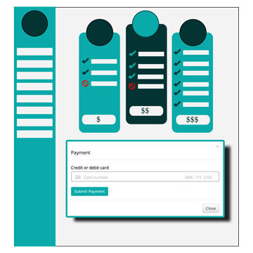 Frontend Dashboard Payment Pro