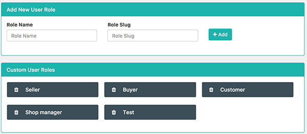 How to Create Custom User Role in Frontend Dashboard WordPress Plugin